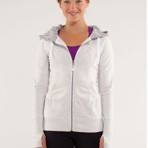 Lululemon Back To Class Hoodie Size 2 Ligh…